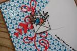 "Carte d'anniversaire ""Enveloppe fleurie"" Avril 2020 | Created by Emmanuelle"