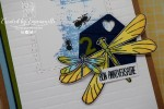 "Carte d'anniversaire ""Libellules"" Avril 2020 | Created by Emmanuelle"