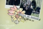 """Page Scrap A4 """"bulles"""" Avril 2020   Created by Emmanuelle"""