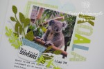 "Page Scrap A4 ""Koala"" Mai 2020 | Created by Emmanuelle"