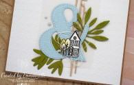 """Carte de déménagement""""Maison du bonheur"""" Juin 2020   Created by Emmanuelle"""
