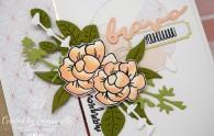 "Carte de mutation ""pivoines"" Juin 2020   Created by Emmanuelle"
