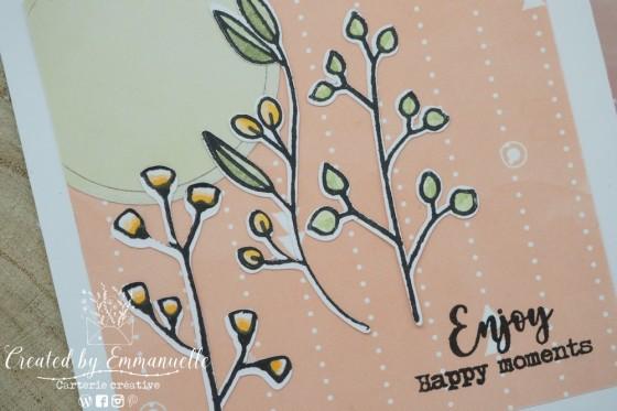 "Mini Carte ""Enjoy"" Août 2020 | Created by Emmanuelle"