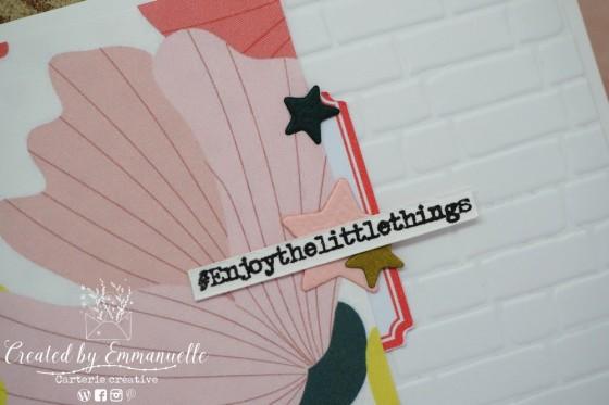 "Mini Carte ""Little Things"" Août 2020 | Created by Emmanuelle"