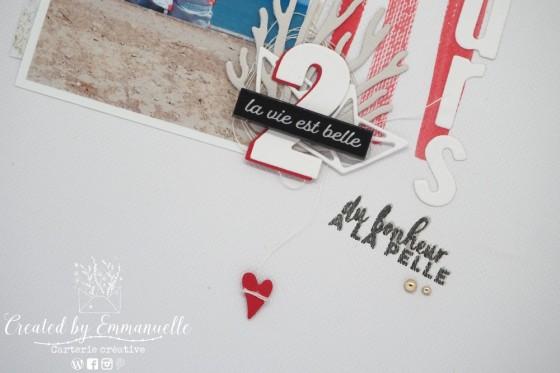 "Page Scrap A4 ""Soeurs"" Août 2020 | Created by Emmanuelle"