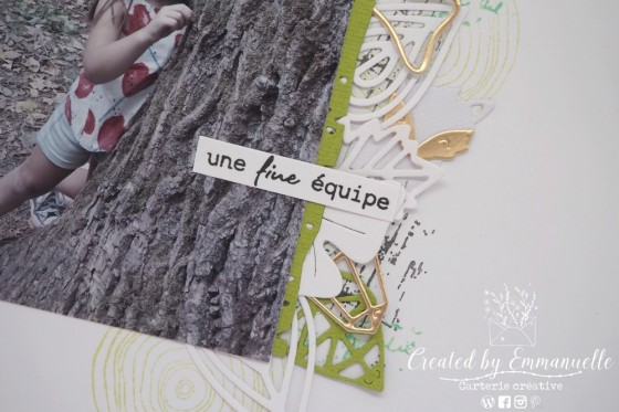"Page Scrap A4 ""profiter"" Septembre 2020 