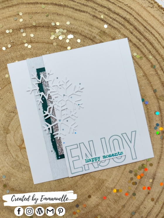 "Mini-carte ""ENJOY"" Janvier 2021 | Created by Emmanuelle"